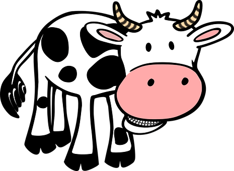 Vacă, Alimente, Fermă, Animale, Coarne