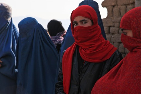 Afghanistan Ragazza Burqa - Foto gratis su Pixabay