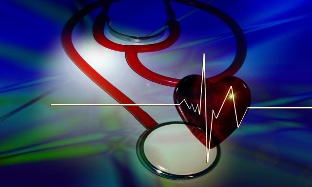 Stestoskop, Corazón, Curva, Curso, Anuncios, Doctor