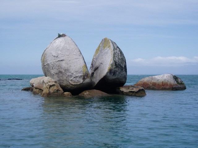 New Zealand, Abel Tasman National Park, Split Apple
