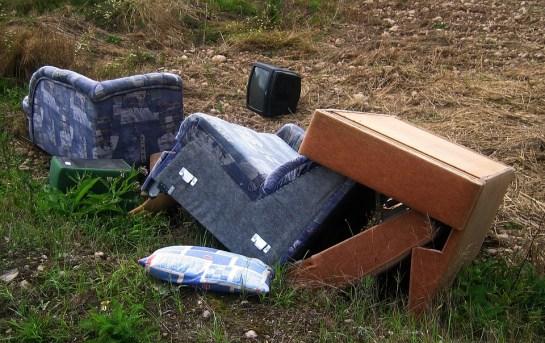 Chaise, Canapé, Garbage, Déchets Encombrants, Meubles