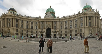 Hofburg Imperial Palace, Vienna, Austria, Architecture