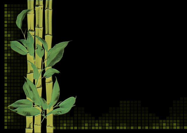 Bamboo Plant Digital Creation 183 Free Image On Pixabay