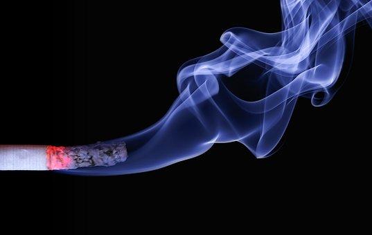 Cigarrillo, Humo, Ascuas, Cenizas, Burns