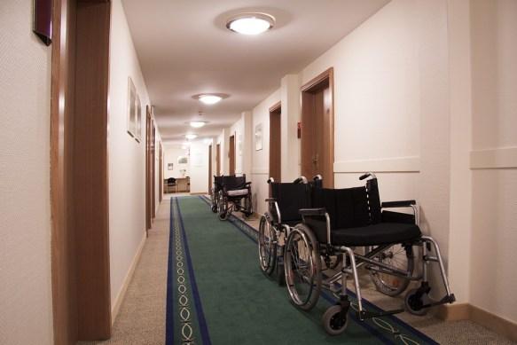 Rehabilitation, Gang, Floor, Wheelchair, Wheelchairs