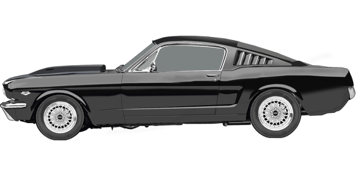 1960 chevrolet cars » Ford Mustang Car Racing Sports      Free vector graphic on Pixabay ford mustang car racing car sports car automobile