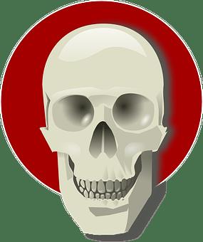 Tengkorak Manusia Gambar Vektor Unduh Gambar Gratis Pixabay