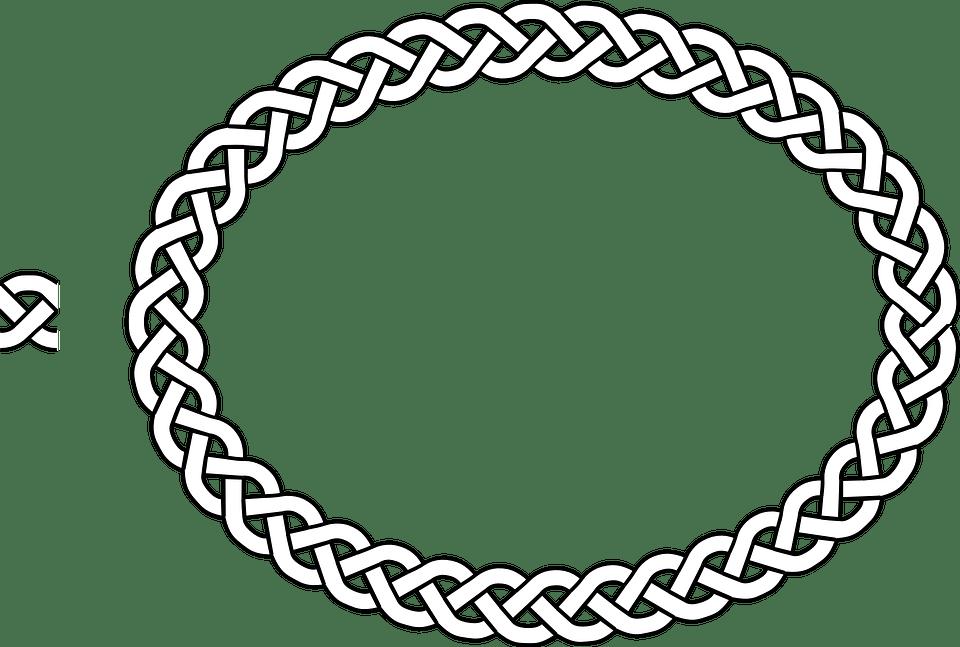 Border Braid Frame Free Vector Graphic On Pixabay