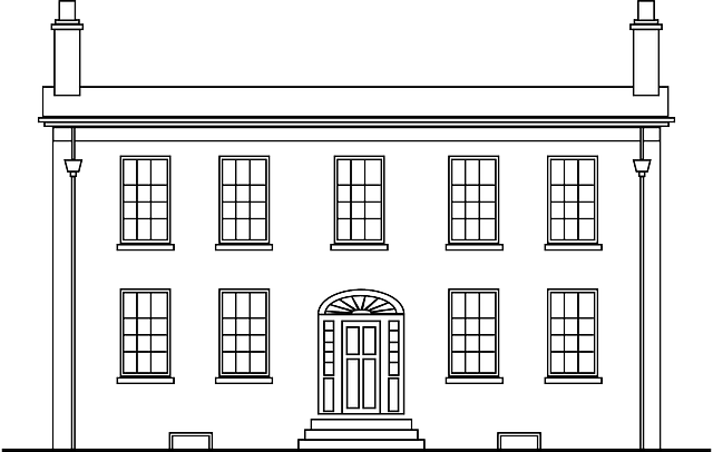 Mansion Colonial Home Canada 183 Free Vector Graphic On Pixabay