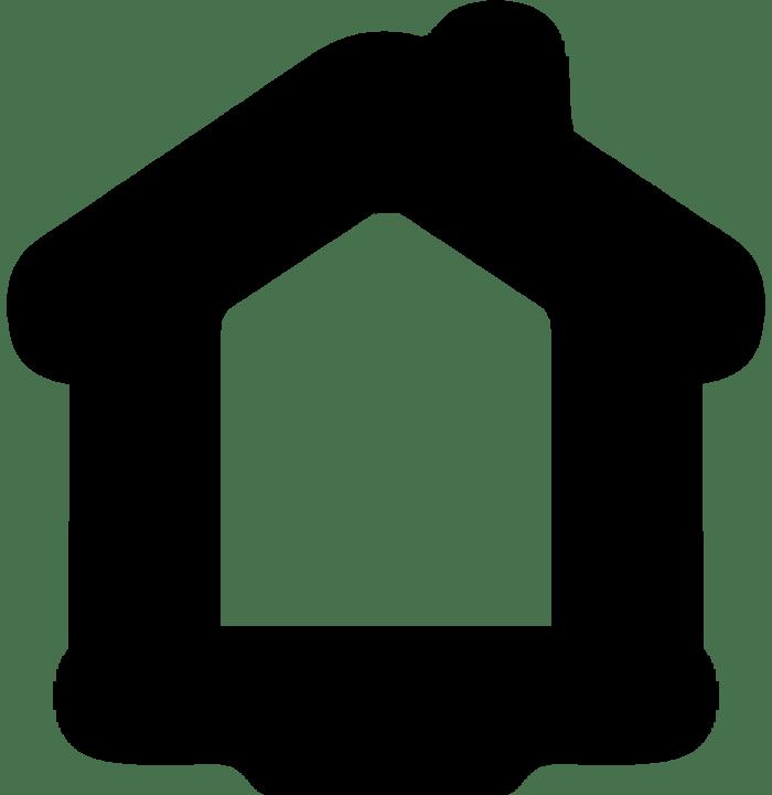 Rumah Hitam Bangunan Gambar Vektor Gratis Di Pixabay