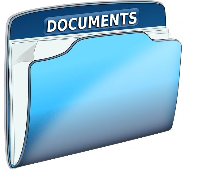 free vector graphic documents folder office text free image on