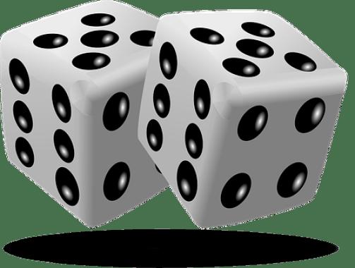 サイコロ, ゲーム, ギャンブル, キューブ, 数字, ラック, ランダム