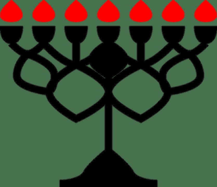 Hanukkah Clip Art Black And White