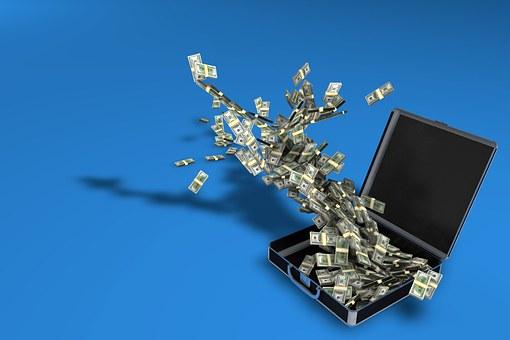 お金のケース, 富, ファイナンス, 市場, ビジネス, お支払い, 廃棄物