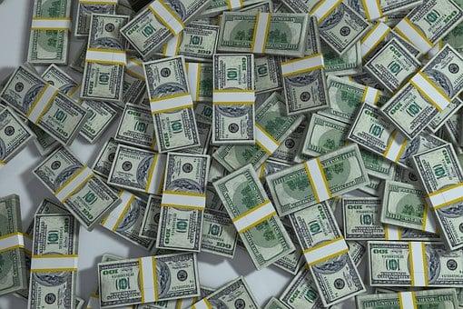 パック, 杭, お金, ファイナンス, 通貨, 危機, 成功, 背景, 銀行