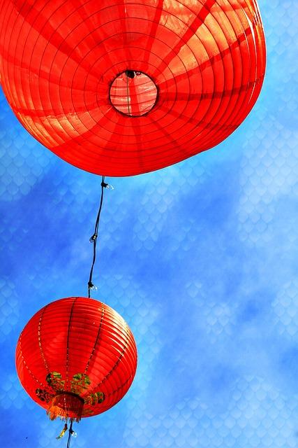 Free Photo Chinese New Year Chinese Lanterns Free
