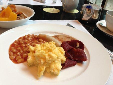 朝食, ホテル, スクランブルエッグ
