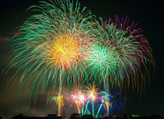Fireworks, Light, Japan, Festival, Sky