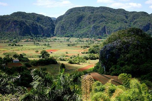 Vallée De Viñales, Cuba, Paysage, Nature