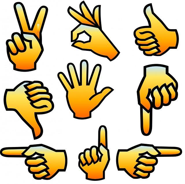 Middle Finger Facebook Symbol