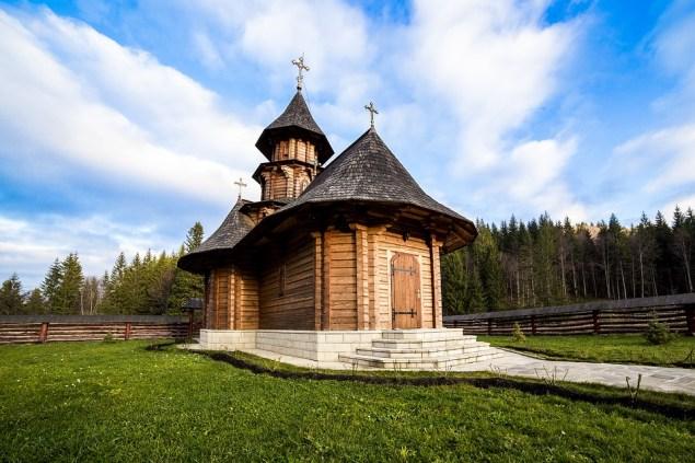 Монастырь Сихастрия в Румынии