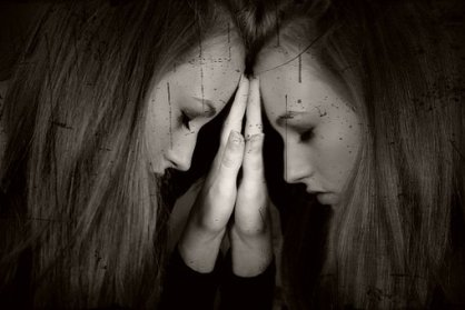 Girl, Feelings, Solitude, Unrest, Detail, Dark night of the soul, spiritual awakening experiences, sadness