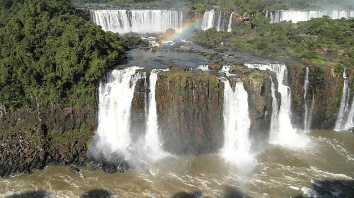 Foz De Iguazú, Iguazú, Cascada, El Agua, Casos, Aerosol