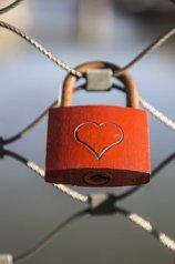 心, 城, 愛, 南京錠, フェンス, 愛城, 愛のシンボル, 友情