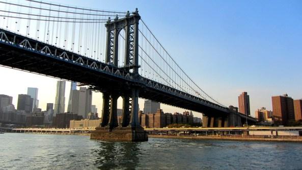 マンハッタン橋, ニューヨーク市, 吊橋, イースト川, マンハッタン, 橋, ニューヨーク, 米国