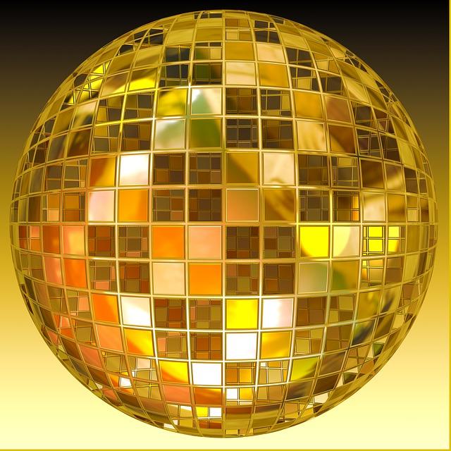 Free Illustration Ball Disco Ball Jump Dance Free