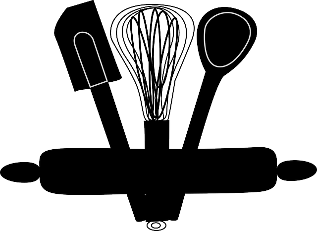 Free Vector Graphic Whisk Bakery Kitchen Rolling Pin