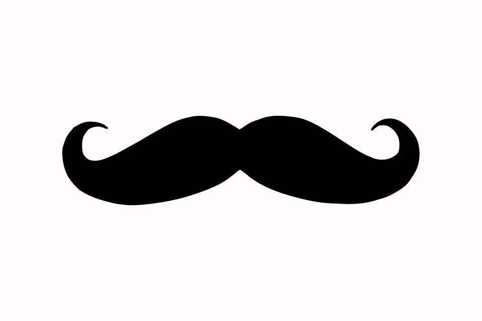 口ひげを生やして, シルエット, 顔, 髪, 髭, レトロ, ひげをそる, ビンテージ, 古い, 理容