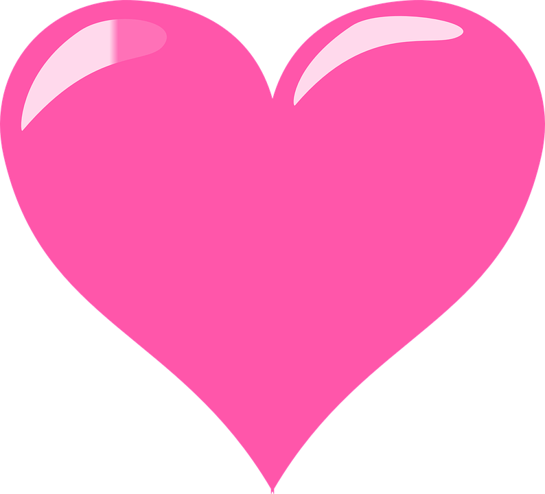 Download Shaded Heart Love · Free vector graphic on Pixabay
