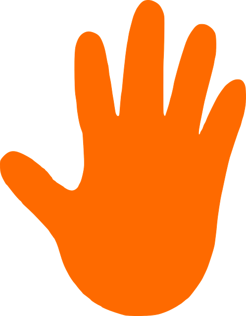 Free Vector Graphic Hand Stop Support Left Hot Free