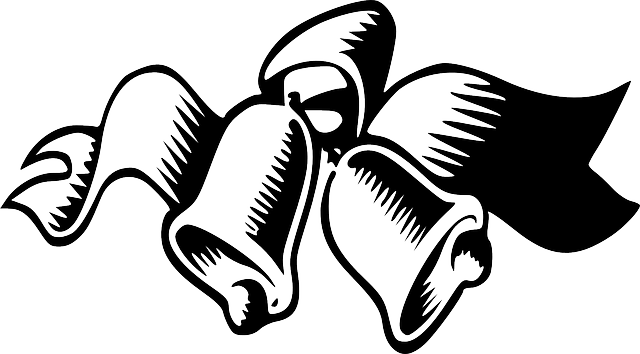 Wedding Bells Black Free Vector Graphic On Pixabay