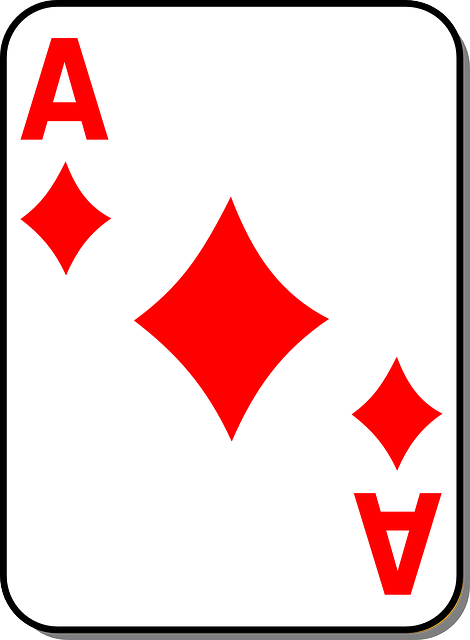 Free Vector Graphic Playing Card Ace Diamond Casino