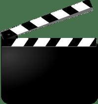 Clapperboard, Film, Movie, Cut