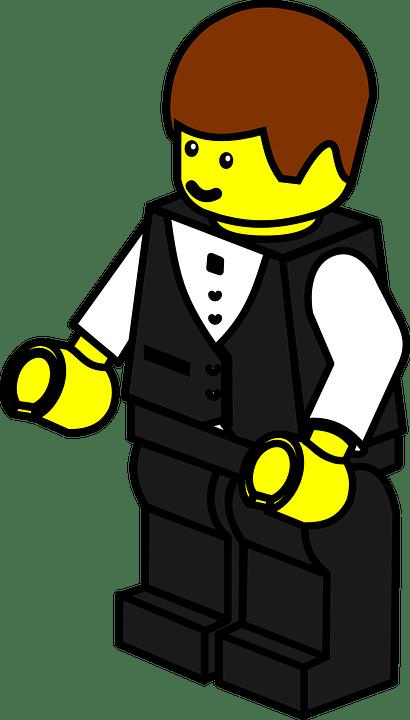 Lego Pelayan Pria Tuan Gambar Vektor Gratis Di Pixabay