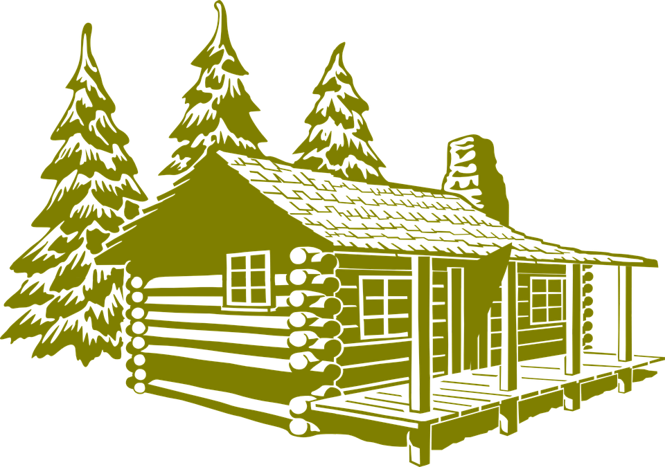 Free Vector Graphic Log Cabin Cabin Rustic House