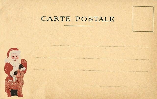 Vintage Postcard Christmas Free Image On Pixabay