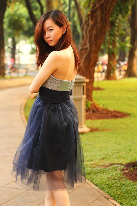 Prom Dress, Dress, Fashion, Classic, Gown, Women