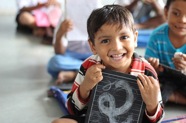 Boy, School, Laughing, Children, Indian, Ahmedabad