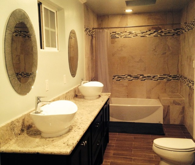 Bathroom Tiles Toilet Sink Home Interior House