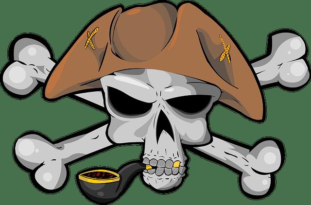 Bajak Laut Tengkorak Tulang Gambar Vektor Gratis Di Pixabay