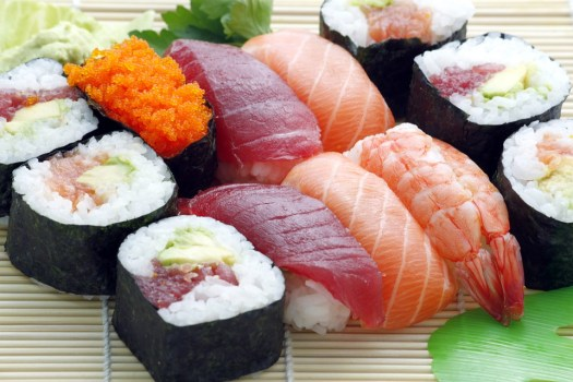 Sushi, Giapponese, Asiatici, Cibo, Crudo, Sashimi