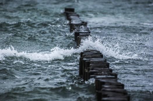 Frangiflutti, Mare, Onda, Acqua, Spray, Stormy, Ventoso
