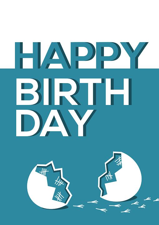 Selamat Ulang Tahun Kartu Ucapan Gambar Vektor Gratis Di Pixabay