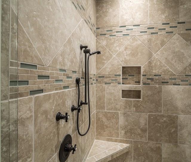 Shower Tile Bathroom Interior Luxury Decor Modern  C B Public Domain