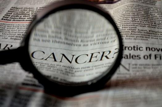 Cancro, Giornale, Parola, Lente Di Ingrandimento