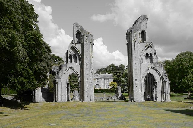 Free Photo Glastonbury Ruin Cathedral Free Image On